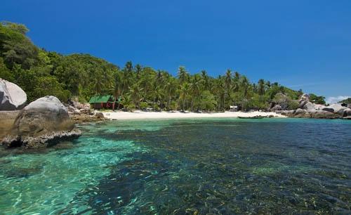 plage Sairee Beach de l'île de Koh Tao.jpg